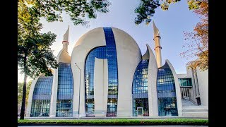 Masjid in Cologne Germany / Zentralmoschee Köln مسجد كولن Camii