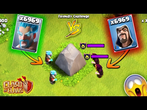 ICE WIZARD VS FIRE WIZARD ! | CLASH OF CLANS TROOPS VS TROOPS | ROYAL RUMBLE 2017 ! | COC
