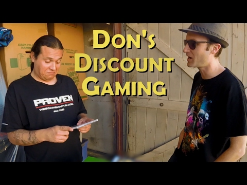 Don's Discount Gaming: Swap Meet Beyond Thunderdome