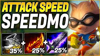 FULL ATTACK SPEED IS SO STRONG! AGGRESSIVE TEEMO GAMEPLAY! | League of Legends (Preseason 10)