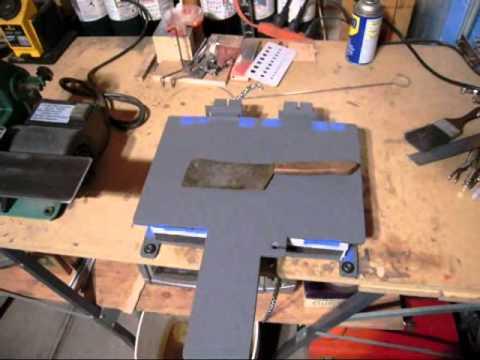 Kydex Press Mod Other Stuff New Ferro Rod Idea Wmv Youtube