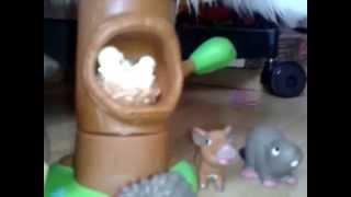 Моя калекция игрушик из журнала животные леса