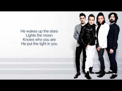 Newsboys   Go Glow Lyric Video