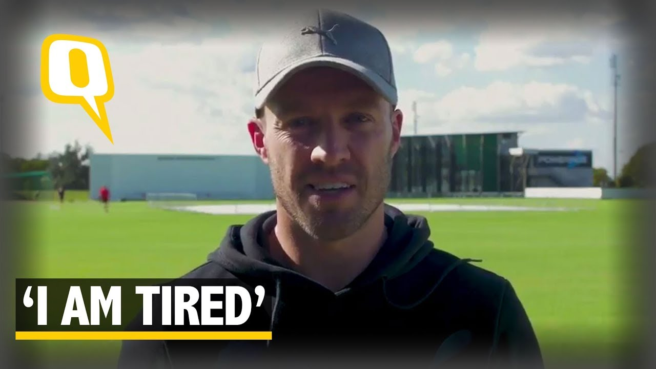 """I am Tired,"""" Says AB de Villiers on International Retirement 