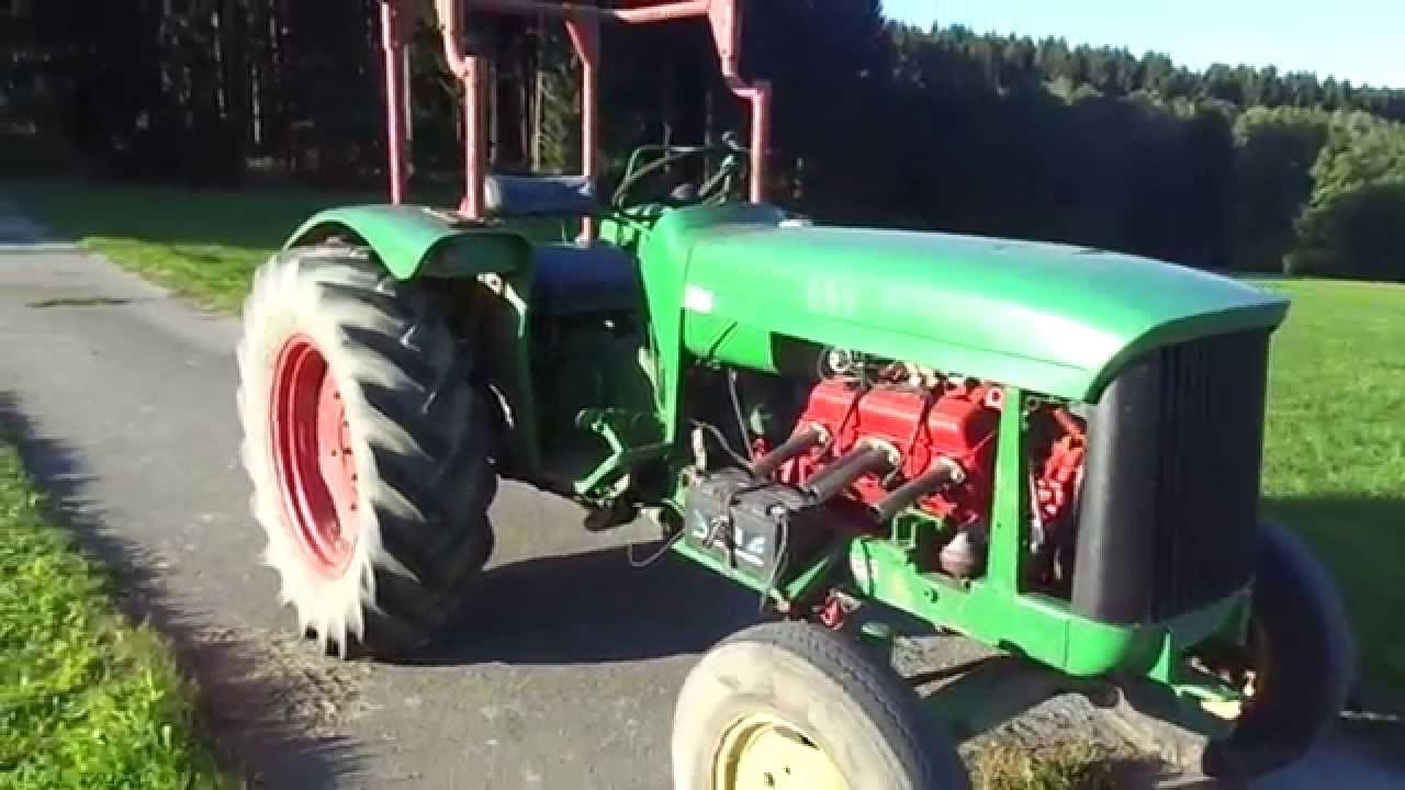 Runde Chevy >> Traktor John Chevy Lanz V8 5,7l alias John deere lanz 500 ...