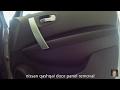 Nissan Qashqai door panel removal