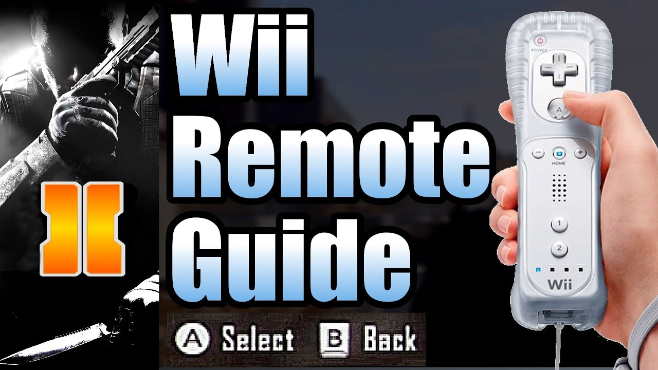 black ops 2 wii remote settings guide by treyarch chicom cqb rh youtube com Wii U 2 Call of Duty 2 Wii U