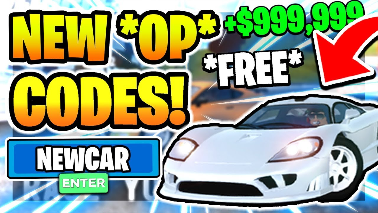 April All Secret Codes In Vehicle Simulator New Car 2020 Roblox Youtube