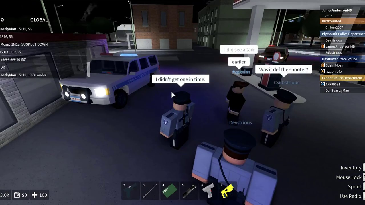 ROBLOX | New Haven County | Plymouth Police Department | Quiet  Almost too  quiet