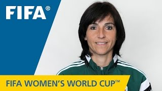 Referees at the FIFA Women's World Cup Canada 2015™: CARINA SUSANA VITULANO