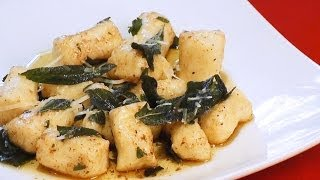 Gnocchi Recipe With Browned Butter And Sage - Mark's Cuisine #95