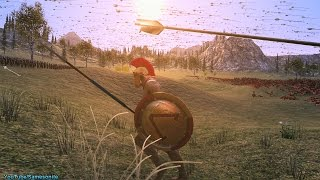 300 Archers vs 25000 Spartans Ultimate Epic Battle Simulator