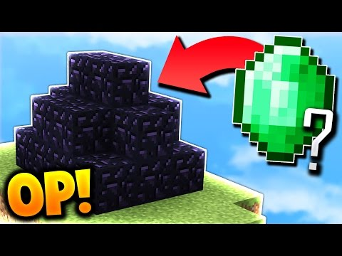 OP BED DEFENSE IN SECONDS! (Minecraft Bed Wars)