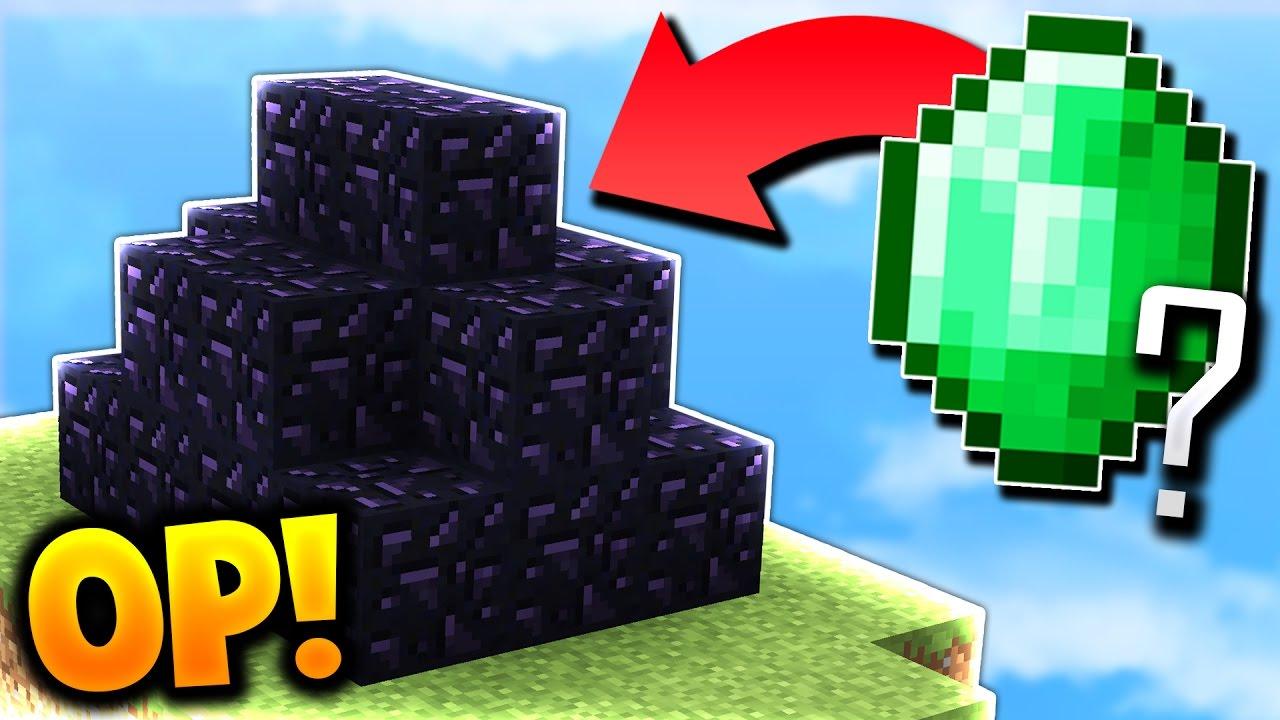 OP BED DEFENSE IN SECONDS! (Minecraft Bed Wars)