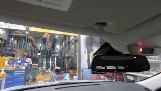 르노삼성 SM6  차량에 순정 하이패스룸미러를 설치완료…