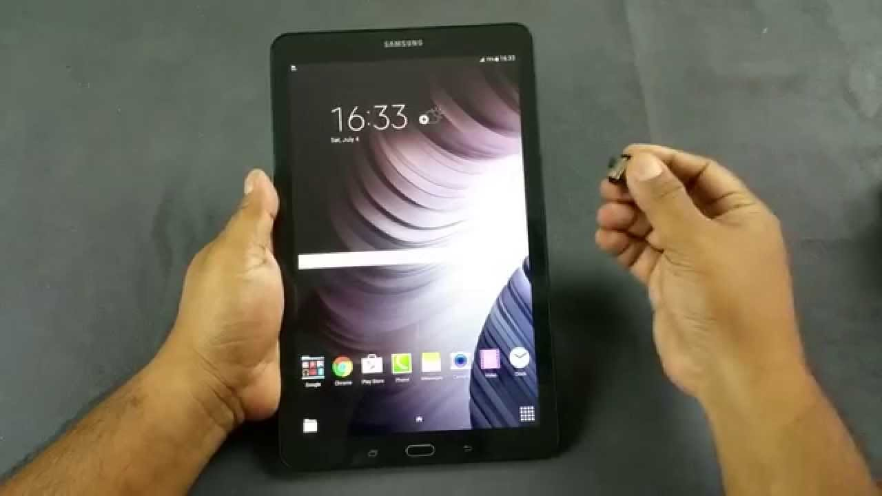 Samsung Galaxy Tab E Hands On - YouTube