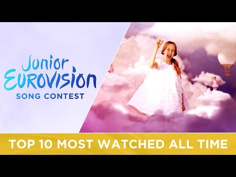 TOP 10: Most watched Junior Eurovision videos of ALL TIME