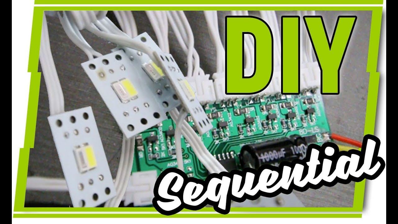 Profile Pivot Switchback Sequential LED DRLs - Tech Review - DIY Custom  Headlights