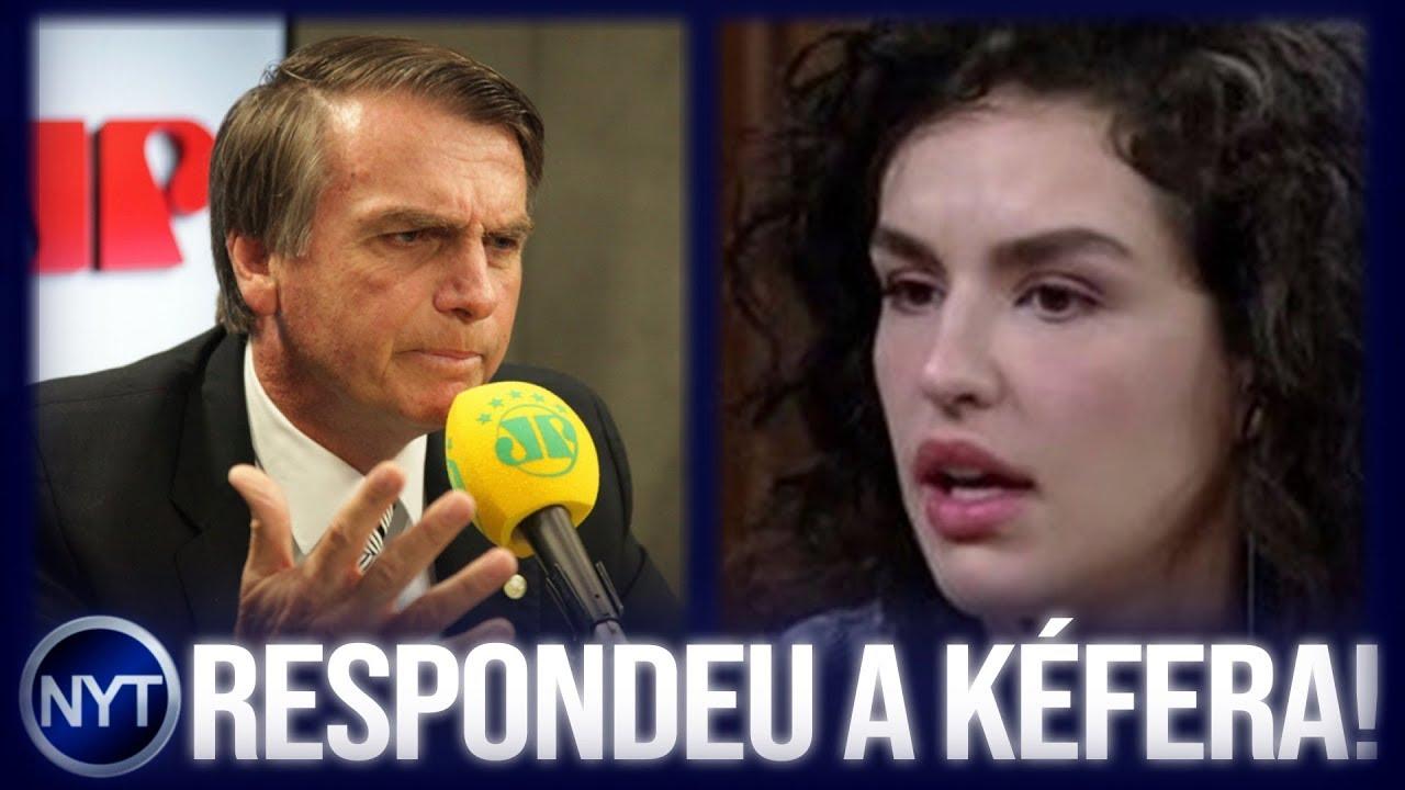 Bolsonaro RESPONDE Kéfera sobre boato de que Brasil virará uma DITADURA caso ele consiga se eleger