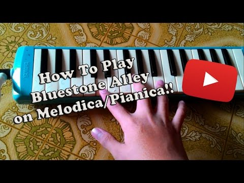 How to Play Bluestone Alley (Congfei Wei) on Melodica/Pianica   Tutorial/How-to