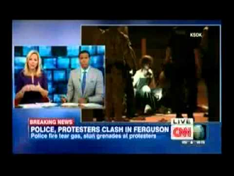 CNN's Rosemary Church Urges Use of Water Cannon in Ferguson