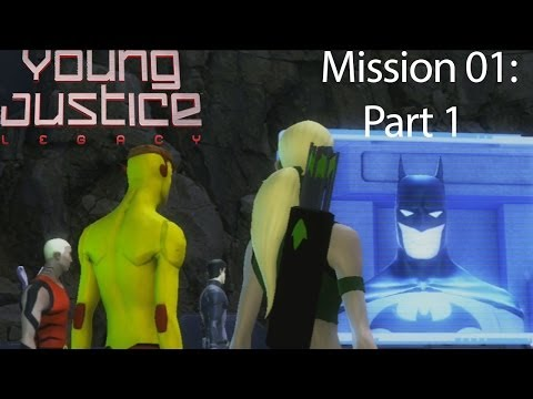 Young Justice: Legacy Co-Op Playthrough with Live Commentary - Greece Mission 01: Part 1