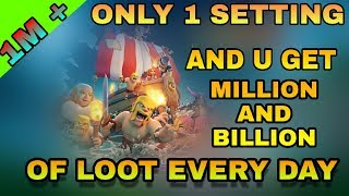 How to get millions of loot in clash of clans | new coc tricks to get million of loot and free gem
