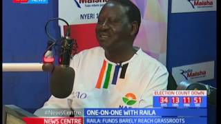 Newscenter : One-on-one with Raila Odinga live on Radio Maisha (Part 3)