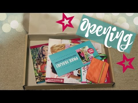 AMERICAN GIRL CYBER MONDAY SALE PACKAGE! | Opening & Review