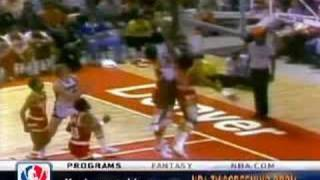 David Thompson :Touch the top of the backboard!
