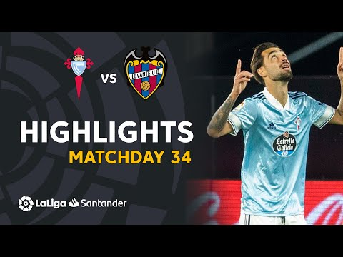 Celta Vigo Levante Goals And Highlights