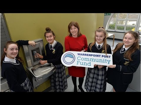 New water stations at Newry school thanks to Warrenpoint Port funding