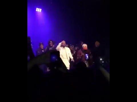 Drake Surprise Appearance at Section Boyz Concert