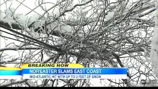Northeaster Begins Wreaking Havoc on Northeast | East Coast Snowstorms