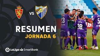Resumen de Real Zaragoza vs Málaga CF (1-2)