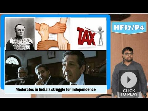 HFS7/P4: Moderates in India's struggle for independence, Indian Councils Act 1861