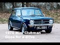 1970 Mini Clubman goes for a drive