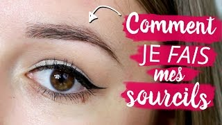 Comment je fais mes sourcils | Laura Makeuptips
