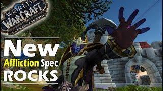 Battle for Azeroth ALPHA: NEW AFFLICTION SPEC ROCKS !!!
