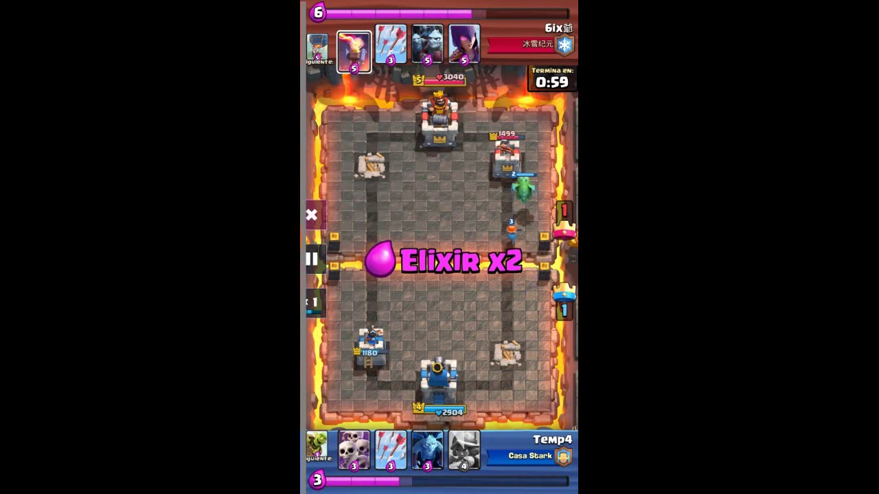 EPIC BUG!!! Clash Royal - Cazador no puede disparar al dragon :V