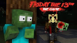 Monster School: Friday The 13th Challenge - Minecraft Animation