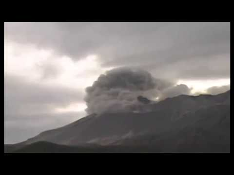 NEW Volcano exploded in Japan and bury a city with dust