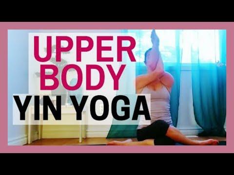 Yin Yoga for Neck, Shoulder & Upper Back Tension Relief