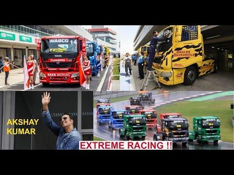 Tata Truck Racing Championship 2017   AKSHAY KUMAR   Stunts   Racing