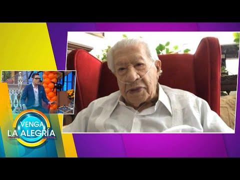 Ignacio López Tarso prepara un evento virtual especial para Día de Muertos.   Venga La Alegría