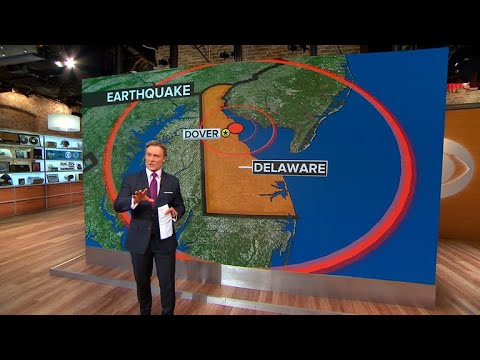 """4.1 magnitude earthquake in Delaware """"extremely rare"""""""