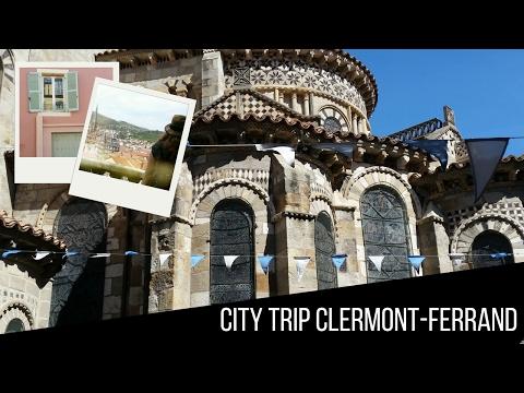 City trip Clermont-Ferrand & Montferrand | Map of Joy
