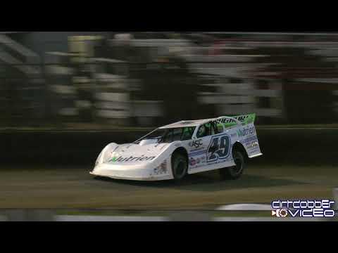 Johnathan Davenport Lucas Oil Late Model Dirt Series Qualifying East Bay Raceway Park, 2/3/20
