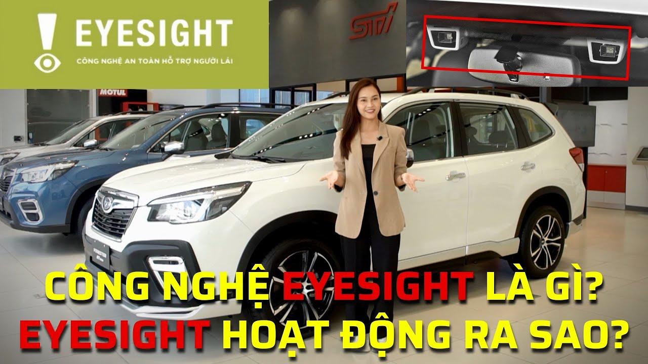 DRIVE TV | Tìm hiểu công nghệ Eyesight trên xe Subaru