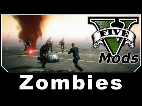 GTAV Mod Spotlight - Zombies